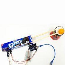 dCO ArduinoProjectUsingWaste OreoSpeedMeter